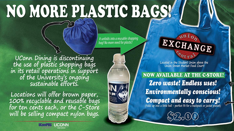 no more plastics
