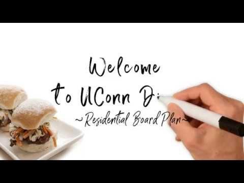 UConn Residential Board Plan