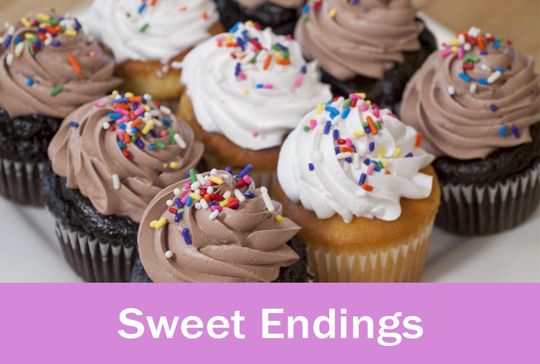 Sweet Endings Menu
